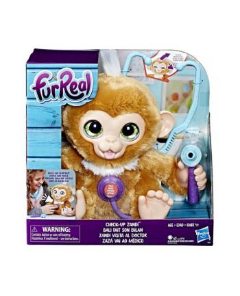 FurReal Interaktywna małpka Zandi z wizytą u doktora E0367 HASBRO