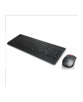 lenovo Profesjonalny zestaw klawiatury bezprzewodowej i myszy US English z symbolem Euro - 4X30H56829
