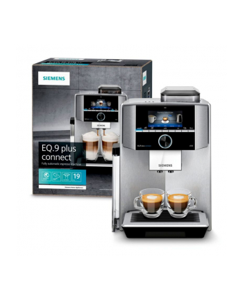 Siemens TI9558X1DE EQ.9 plus connect s500, fully automatic (silver)