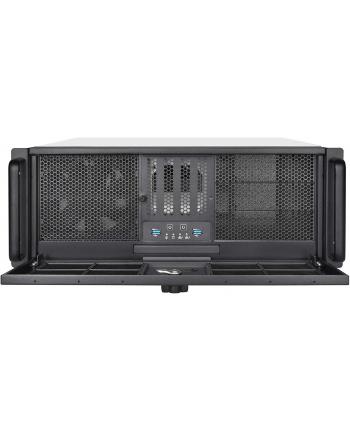 silverstone technology Silverstone RM400, rack enclosure(black, 4U)