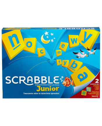 Scrabble Junior Y9735 gra p6 MATTEL