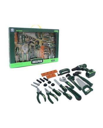 Zestaw narzędzi z wiertarką na baterie ASKATO