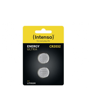 INTENSO batteries CR2032 blister of 2