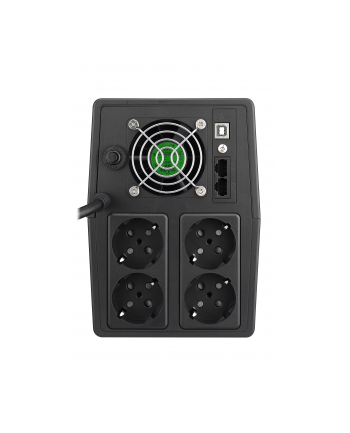 power walker POWERWALKER UPS Line-Interactive 2000VA SCL 4x Schuko 230V RJ11/45 In/Out USB LCD