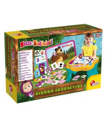 lisciani giochi Biurko edukacyjne Masza i Niedźwiedź 78028 LISCIANI