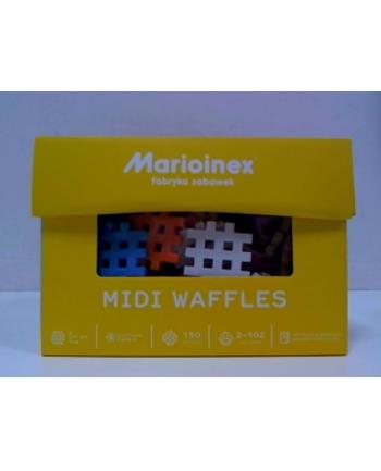 mario-inex Klocki Waffle Midi 150 elementów 582 Marioinex