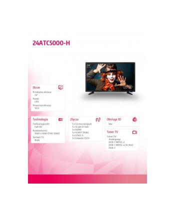 allview Telewizor LED 24 cale 24ATC5000-H
