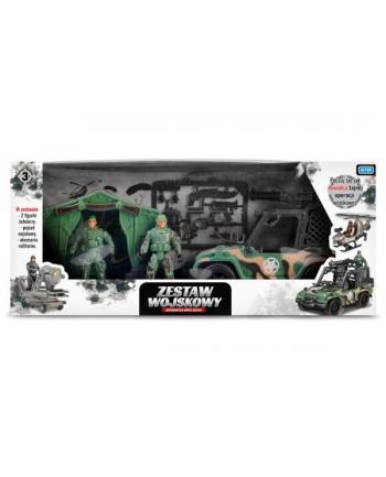 Zestaw wojskowy z pojazdem TOYS FOR BOYS 157264 ARTYK