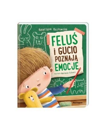 nasza księgarnia Książka Feluś i Gucio poznają emocje