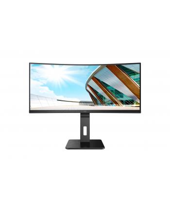 aoc Monitor CU34P2A 34 cale VA Curved 100Hz HDMIx2 DP