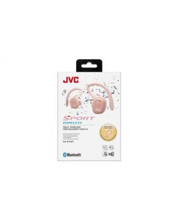 JVCKENWOOD JVC HA-ET45T True Wireless IE Headphones  pink