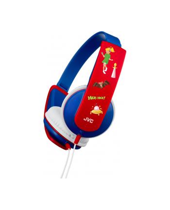 JVCKENWOOD JVC HA-KD5 Bibi Blocksberg Kids OE Headphones  blue
