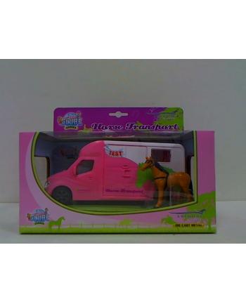 hkg Auto do przewozu koni z dźw. różowe 510212 62310.