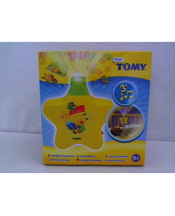 TOMY Projektor gwiazdka żółty T2008