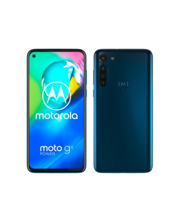 Motorola XT2041-3 moto g8 power Dual Sim 4+64GB  capri blue DE