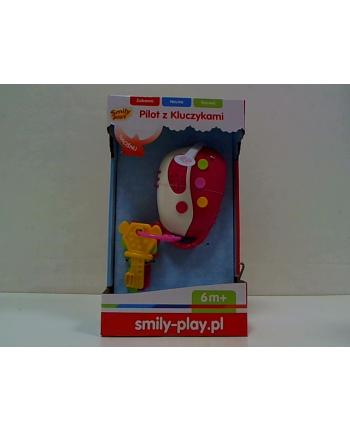 anek - smily play Pilot z kluczykami róż SmilyPlay SP83121 31219.