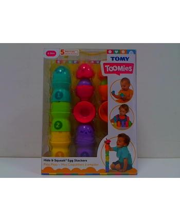TOMY Toomies piramidka z jajeczek E73083