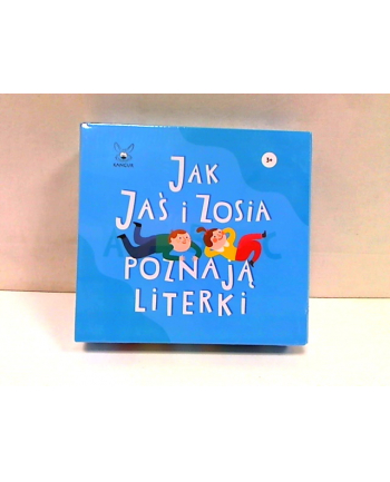 kangur - gry Gra Jak Jaś i Zosia poznają literki 08460