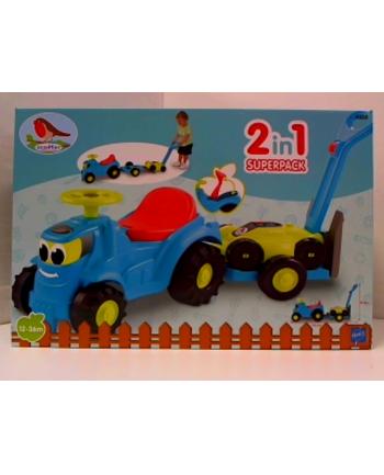 simba EC Traktor z przyczepką i kosiarką 7600004350