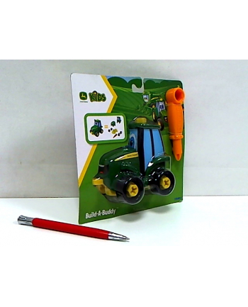 TOMY John Deere Zbuduj mini traktorek Johnny 47208