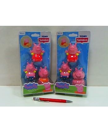 TOMY Świnka Peppa figurki do wody 3-pack E73105