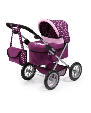 Bayer Wózek głęboki dla lalki Trendy fioletowy 13037AA