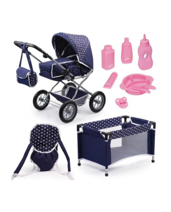 Bayer Wózek dla lalki Combi Grande Set 15051AB