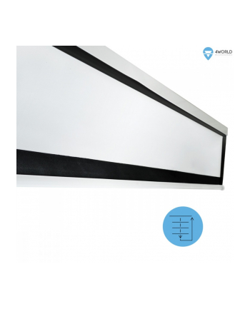 4world Stołowy ekran projekcyjny 50' (4:3) Biały mat