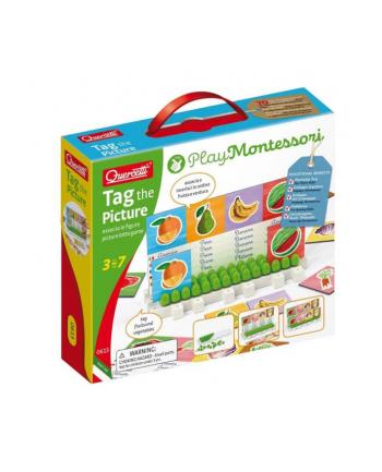 Montessori Tablica z obrazkami 0613 QUERCETTI