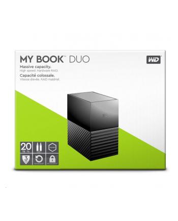 western digital WD My Book Duo 28TB RAID Storage Dual-Drive RAID 0/1 JB0D USB3.1 RTL