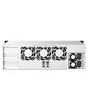 qnap systems QNAP 16-bay Rackmount NAS AMD Ryzen V1000 series V1500B 4C/8T 2.2GHz 16GB DDR4 RAM 2x2.5GbE LAN optional 10GbE ' M.2 NVMe/SATA