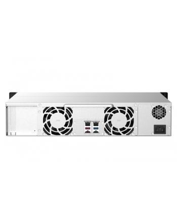 qnap systems QNAP 8-bay Rackmount NAS AMD Ryzen V1000 series V1500B 4C/8T 2.2GHz 4GB DDR4 RAM 2x2.5GbE LAN optional 10GbE ' M.2 NVMe/SATA