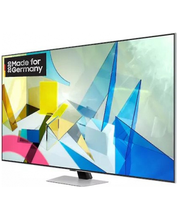 Samsung GQ-75Q84T, QLED TV(silver, UltraHD / 4K, Twin Triple Tuner, HDR)