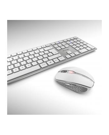 CHERRY DW 9000 SLIM, desktop set(silver / white)