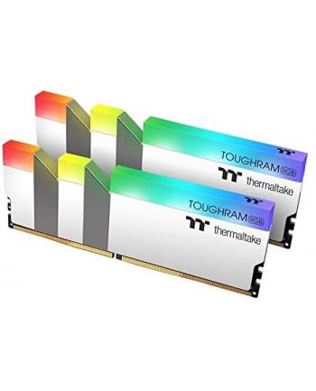 Thermaltake DDR4 - 16 GB -4600 - CL - 19 - Dual Kit, TOUGHRAM RGB (white, R022D408GX2-4600C19A)