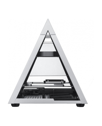 AZZA Pyramid Mini 806, bench / show case(aluminum / black, tempered glass)