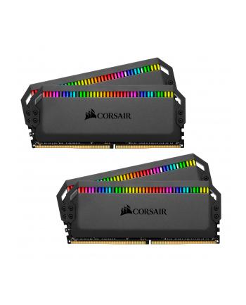 Corsair DDR4 - 32 GB -4000 - CL - 19 - Quad-Kit,  Dominator Platinum RGB (black, CMT32GX4M4K4000C19)