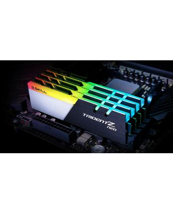 G.Skill DDR4 - 32GB -3600 - CL - 14 - Quad Kit, Trident Z Neo (black / white, F4-3600C14Q-32GTZNB)