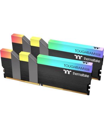 Thermaltake DDR4 - 64 GB -3600 - CL - 18 - Dual Kit, RAM(black, R009R432GX2-3600C18A, TOUGHRAM RGB)