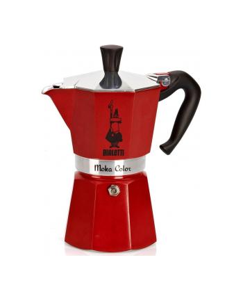 Bialetti kawiarka Moka Express 3tz czerwona