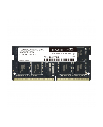 Team Group TEAM ELITE DDR4 16GB 2666MHz SODIMM