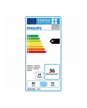 Telewizor Philips 32PHS5525 LED 32   HD Ready