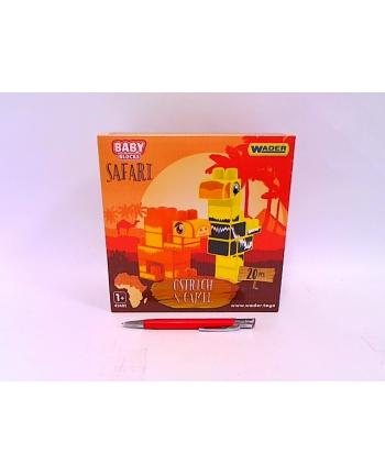 WADER.Klocki Baby Blocks Safari 41491