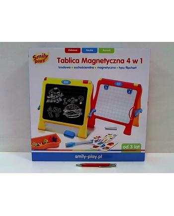 anek - smily play Tablica magnetyczna 4w1 SmilyPlay SP83467 34678