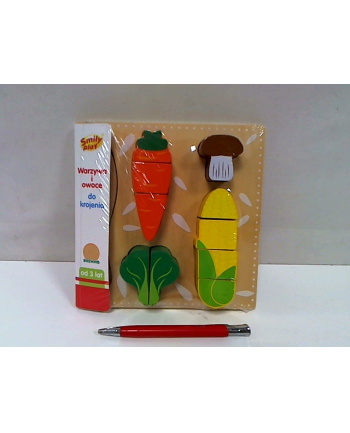 anek - smily play Warzywa i owoce do krojenia SmilyPlay AC7336 34951