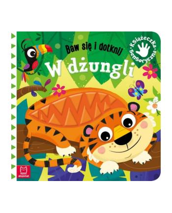 aksjomat Książeczka sensoryczna. Baw się i dotknij. W dżungli.