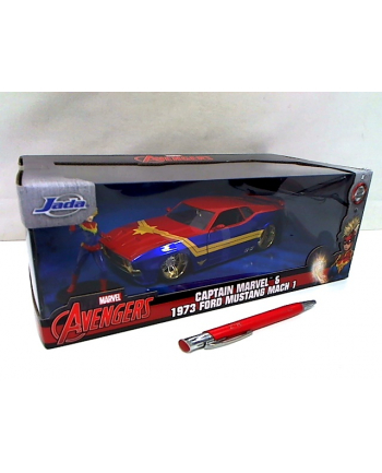 simba JADA Captain Marvel Ford Mustang 1:24 322-5009