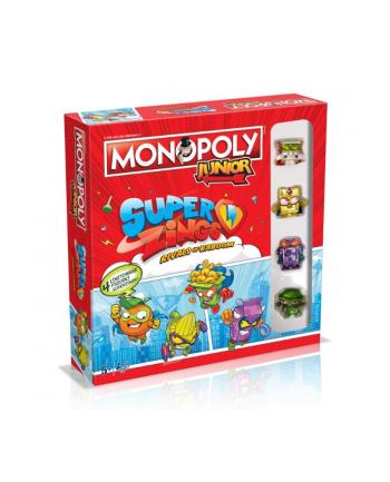 winning MONOPOLY JUNIOR Super Zings 40020
