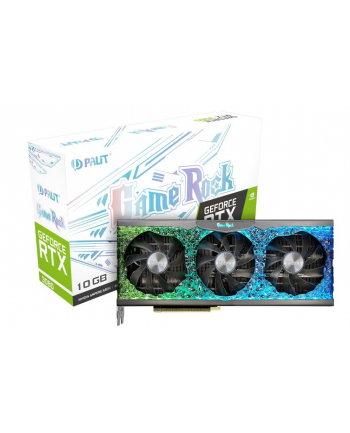 palit Karta graficzna GeForce RTX 3080 GameRock 10GB GDDR6X 320bit 3DP/HDMI