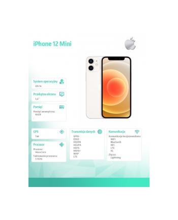apple iPhone 12 MINI 64 GB Biały
